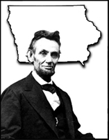Abraham Lincoln and Iowa